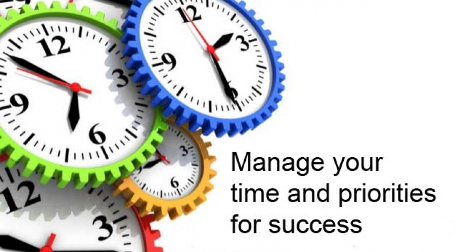 Managing your time and priorities
